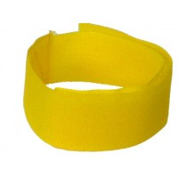 Bracelet velcro Jaune - Par 10