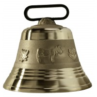 Cloche Bronze Vache OBERTINO