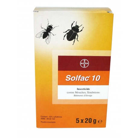 "Insecticide ""Solfac WP10"" 100g"