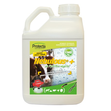 Nebulous 5 L - insecticide - insectes volant/rampants
